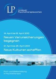 2013 - Lindauer Psychotherapiewochen