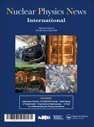 Nuclear Physics News - NuPECC