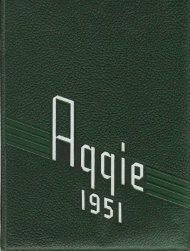 Aggie 1951 - Yearbook