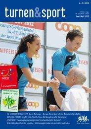 turnen&sport 6+7/12 - Sport Union Schweiz