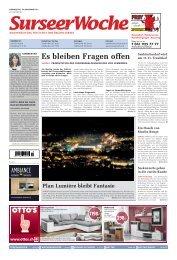 Ausgabe Surseer Woche 10. November 2011 - Neu auf www ...