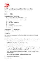Protokoll der 35. ordentlichen Delegiertenversammlung ... - Ipms.ch