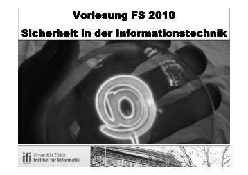 Schwarz/weiss - esecurity Technologies Rolf Oppliger