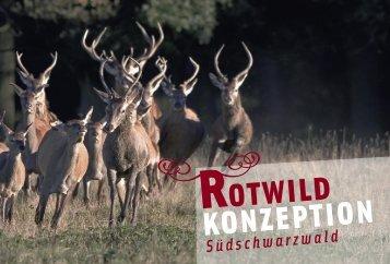 Rotwild im Südschwarzwald 2008 - Konzeption ... - Waldwissen.net