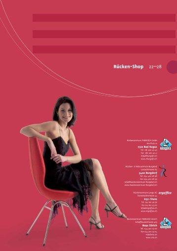 Arbeitsbereich / Sitz - bei ergoffice in Stans