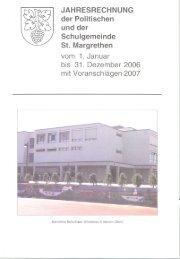 Jahresrechnung_2006 [PDF, 2.40 MB] - St. Margrethen
