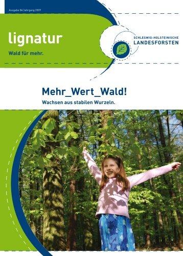 lignatur - Schleswig-Holsteinische Landesforsten