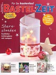 Bastelzeit November / Dezember 2012 - Kunst und Kreativ