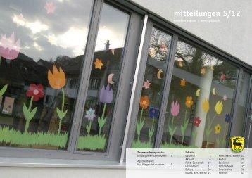 mitteilungen 5/12 - Gemeinde Eglisau