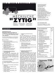 Nr.6 - 29. Oktober 2010 - Meikirch
