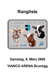 Rangliste - Schweizer Bauer