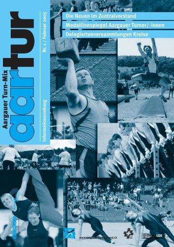 Ausgabe 01_2005 - Aargauer Turnverband