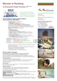 Silvester im Hirschen (PDF) - Hirschenhotels Parsberg
