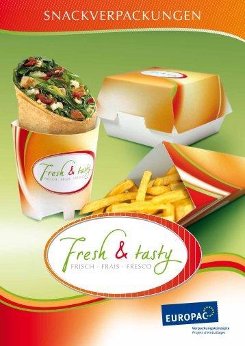 Gerne beraten wir Sie bei Fragen! Snackverpackungen - Europac