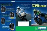 Motorrad-Kompetenz bei EUROMASTER
