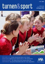 FICEP-Games 2010 - Sport Union Schweiz