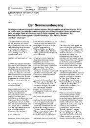 Gruner + Jahr AG & Co KG - Agentur für Erneuerbare Energien