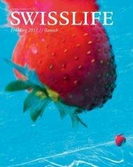 Frühling 2011 // Rausch - SwissLife - Swiss Life