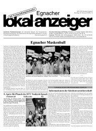 8. AprèsSkiPlausch des DTV NeukirchEgnach - in der Gemeinde ...