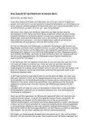 Eine Zukunft für den Rothirsch im Kanton Bern! - Patentjägerverein ...