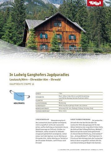In Ludwig Ganghofers Jagdparadies (application/pdf) - Tirol