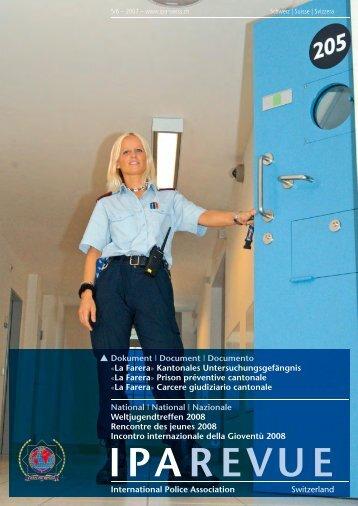 IPAREVUE - International Police Association