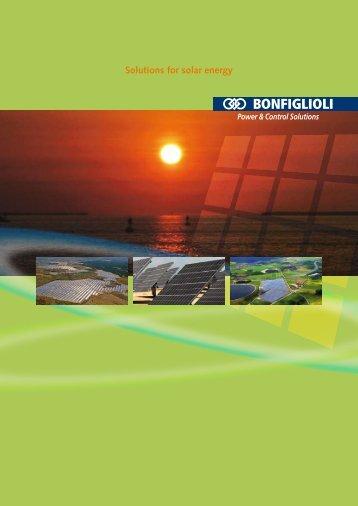 Solutions for solar energy - Mercado-ideal