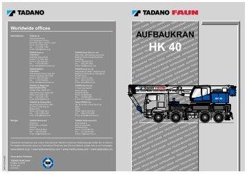 AUFBAUKRAN - Wille & Dulies Krane GmbH