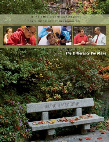 The Difference We Make - University of Illinois College of Medicine ...