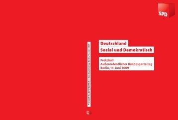 Deutschland Sozial und Demokratisch - SPD
