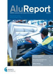 AMAG customer and market information 2/2010 - Austria Metall AG