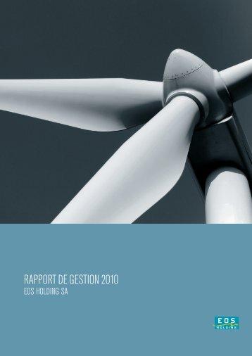 EOSH - Rapport Annuel 2010