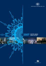 2007 Rapport Annuel - Hinduja Bank