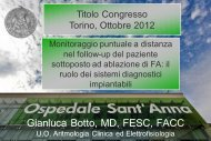 Gianluca Botto, MD, FESC, FACC - Cardiologiamolinette.it