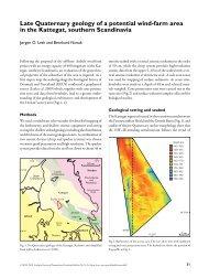 Geological Survey of Denmark and Greenland Bulletin 20 ... - Geus