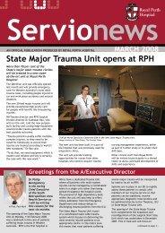 State Major Trauma Unit opens at rPh - Royal Perth Hospital