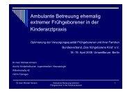 Präsentation - Dr. med. Michael Armann