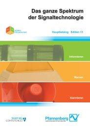 Signaltechnologiekatalog 13 - Wagner GmbH