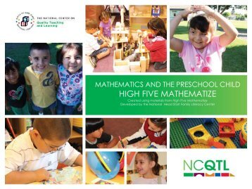 Headstart's High Five Mathematize