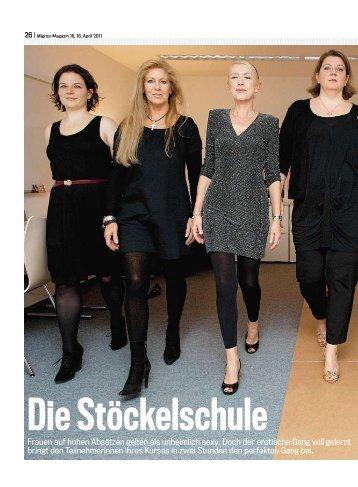Die Stöckelschule - Franziska Freiermuth