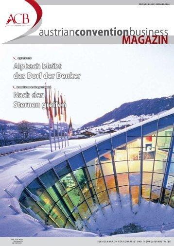 """Finanzkrise? Nicht bei """"ad hoc"""". - Austrian Convention Bureau"""