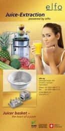 Juice-Extraction - elfo AG