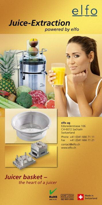 Juice-Extraction - elfo AG