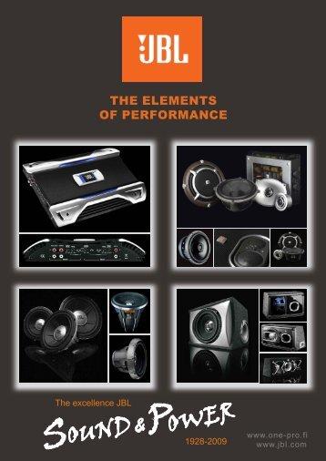 JBL Car Hi-Fi esite mallisto 2009.pdf - One-Pro