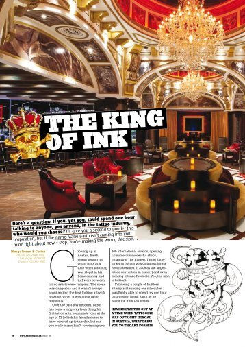 THE KING OF INK - Mario Barth