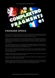 Download specs PDF - Loopmasters