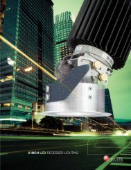 2 Inch LED Recessed LIGHTING - Prescolite