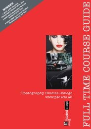FULL TIME C O URSE GUIDE - Photography Studies College