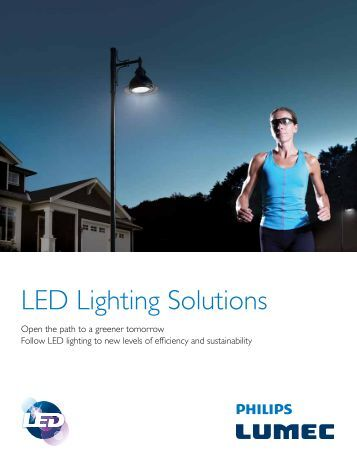 LED Lighting Solutions Brochure - Lumec