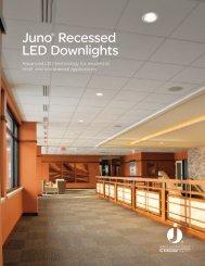 Juno® Recessed LED Downlights - Juno Lighting Group